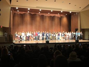 UHS show choir seniors celebrate a successful season!