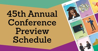 Conference Preview Schedule Released