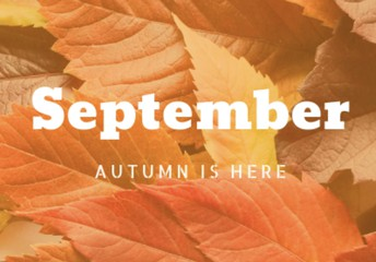 September 2019 is flying by!