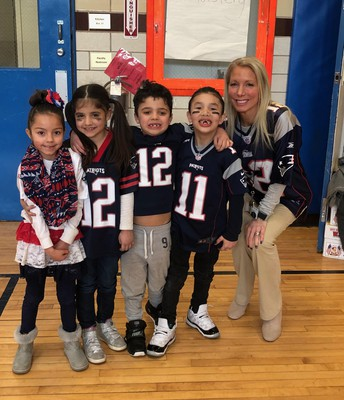 New England Patriots District Spirit Day