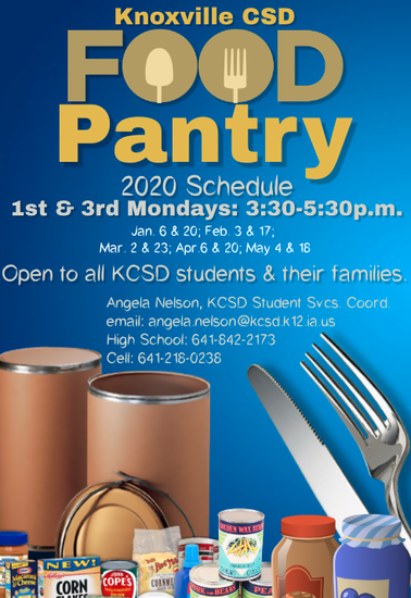 Food Pantry Schedule