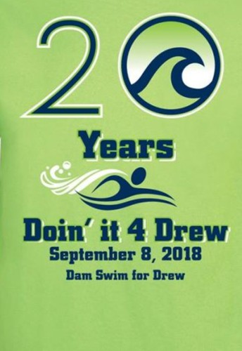 Gators of the Week:  RBHS Swimmers Support the 20th Annual Dam Swim for Drew