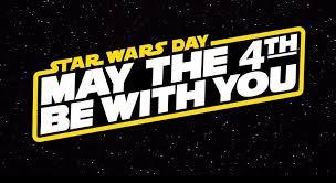 Star Wars Spirit Week, May 4th - 8th