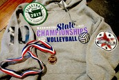 COUPEVILLE HIGH SCHOOL VOLLEYBALL TEAM REPRESENTED WELL AT STATE    WAY TO GO WOLVES!!!!