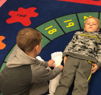 Pre-K students learned all about measurement in January!