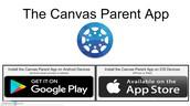 Canvas Parent App Available