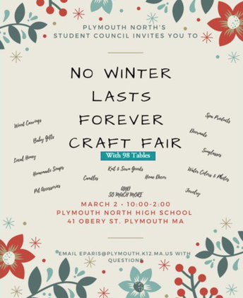 Winter Won't Last Forever Craft Fair