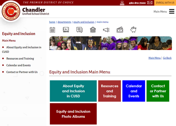 CUSD Equity and Inclusion Website