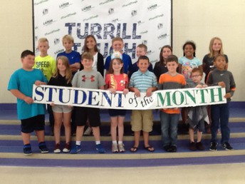 2/3-5th Grade August and September Students of the Month