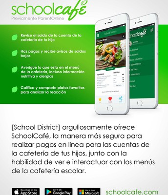 School Cafe App