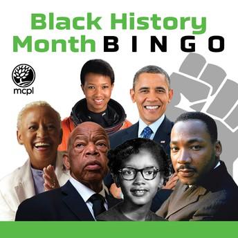 Black History Month School-Wide Bingo