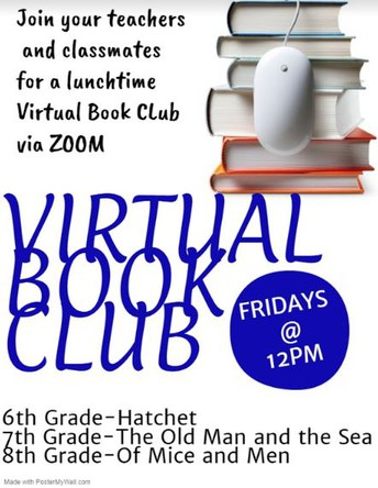 6th Grade Virtual Book Club - Hatchet by Gary Paulsen