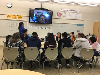 Gators of the Week:  Language Students Skype wth China