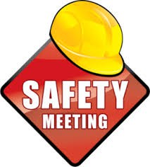 Safety Committee Meeting 10/25 At 6:00 pm (Please note revised start time)