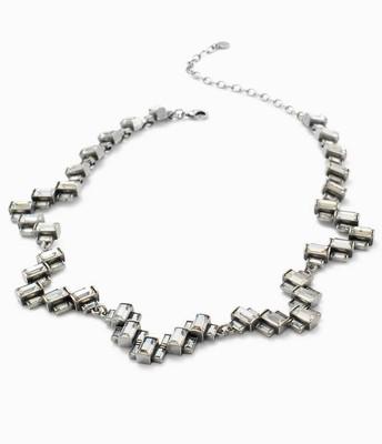 Hatley Baguette Necklace silver