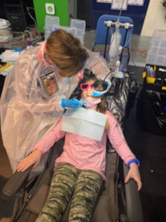 All Smiles as Mobile Dentists Visit