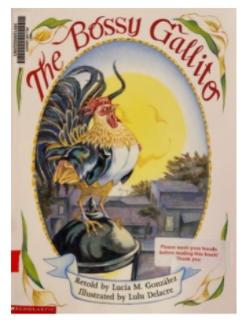 "Book Blurb- ""The Bossy Gallito"""