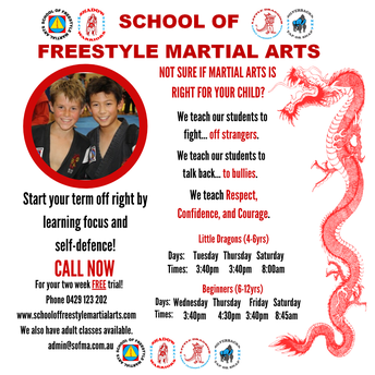 School of Martial Arts free trial
