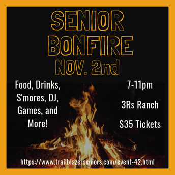 Nov. 2nd Senior Bonfire!!