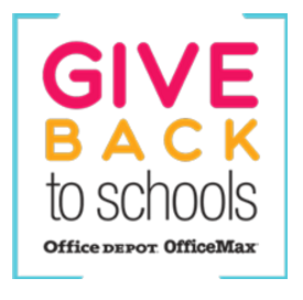 Office depot & Office Max give back to oss