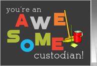 Custodial Appreciation Day-Oct. 7
