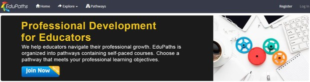 EduPaths Website Homepage