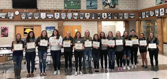 Panther Volleyball Excels Both On and Off the Court