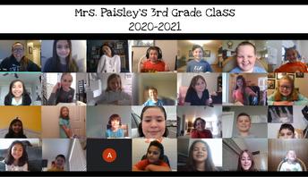 Mrs. Paisley, 3rd grade