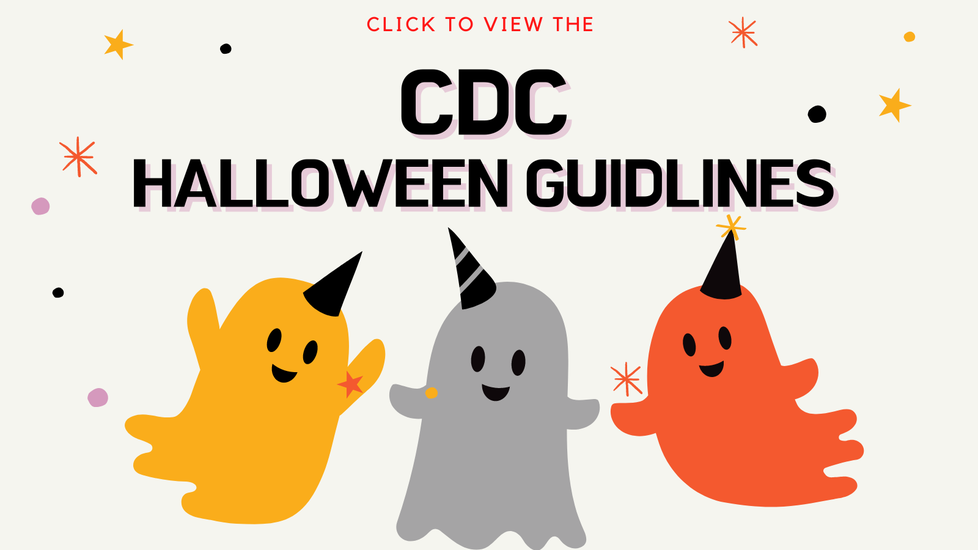 CDC Guidelines for Halloween