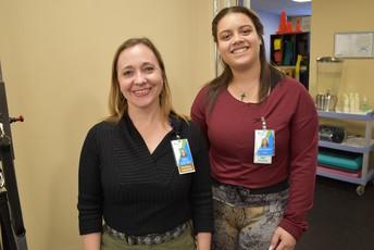 Krista Plasse Physical Therapist and Maryangelis Resto Therapist's Aide