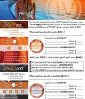VIP 800/1600 Checklist