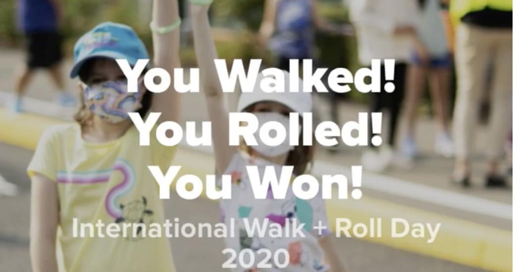 Walk + Roll Day kids