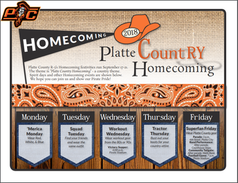 Homecoming 2018 Festivities: September 17-21