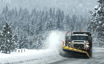 Teach young drivers how to drive around snowplows