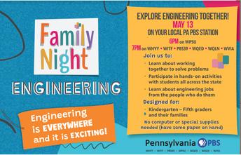 FAMILY NIGHT: ENGINEERING