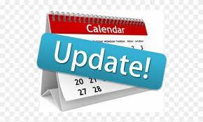 '20-'21 Calendar Updates