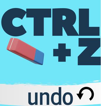 TIP #2: ctrl + z