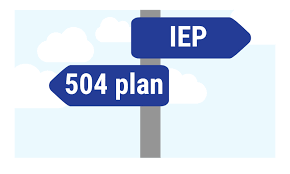 Accommodations for Students with an IEP or 504