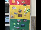 7th Grade Den Door Competition winner