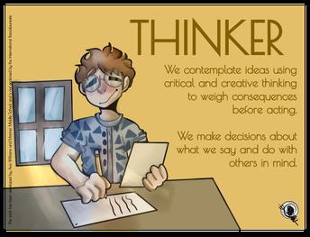 IB Learner Profile~Thinker