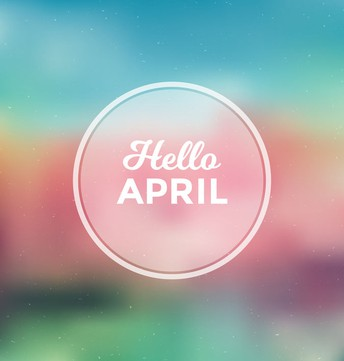 A Real April Day by Lenore Hetrick