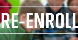Attention all Current Parents:  It is time to RE-ENROLL for next school year!