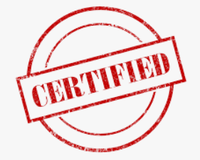 Industry Based Certifications