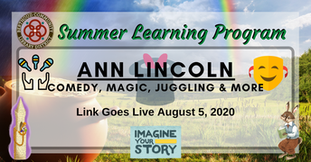 8/5 - Ann Lincoln