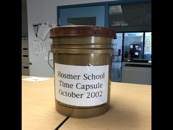 Virtual Activity:  Open the Hosmer Time Capsule Together!