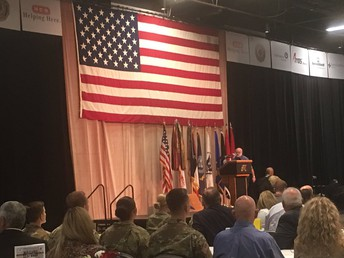 Honoring our Veterans @ the Military Appreciation Luncheon