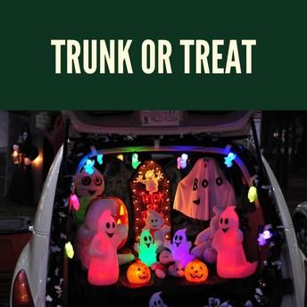 Trunk or Treat - Car Volunteers Needed!