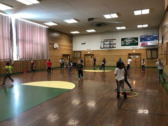 """PBIS Mystery PE - who doesn't love """"Capture The Flag?"""""""