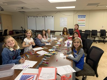 OGS Girl Scouts Helping Veterans