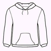 PTA Spirit Wear: Maroon Hoodie Sweatshirt